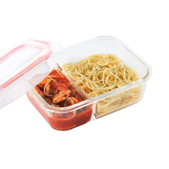 glazen-ovenschaal-deksel-950-ml-vakjes
