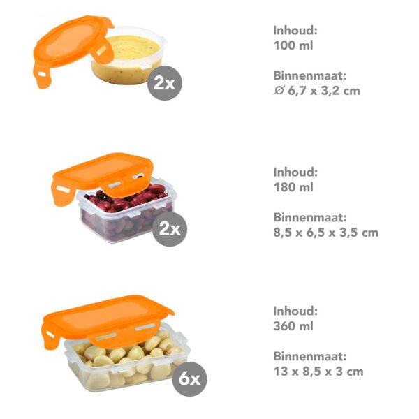 vershouddozen-voordeelset-oranje-16-delig