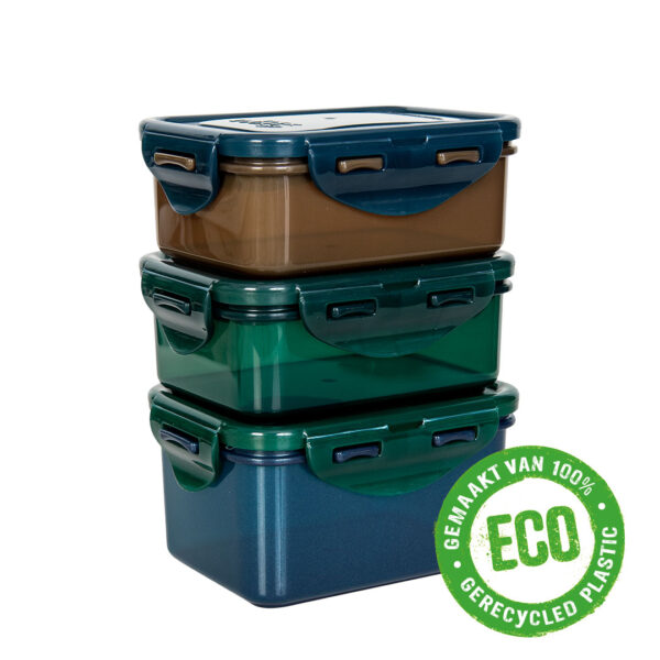 Eco vershouddoosjes set 3-delig