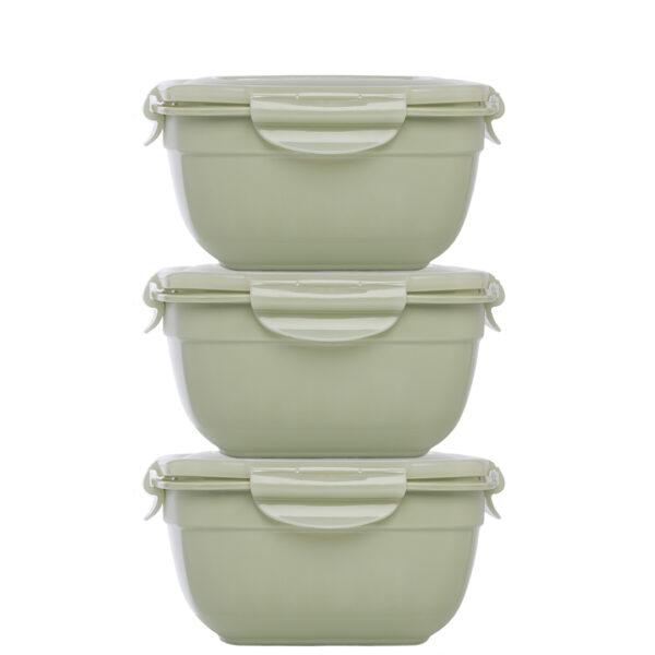Stapelbare-vershouddozen-set-3delig-950ml-groen