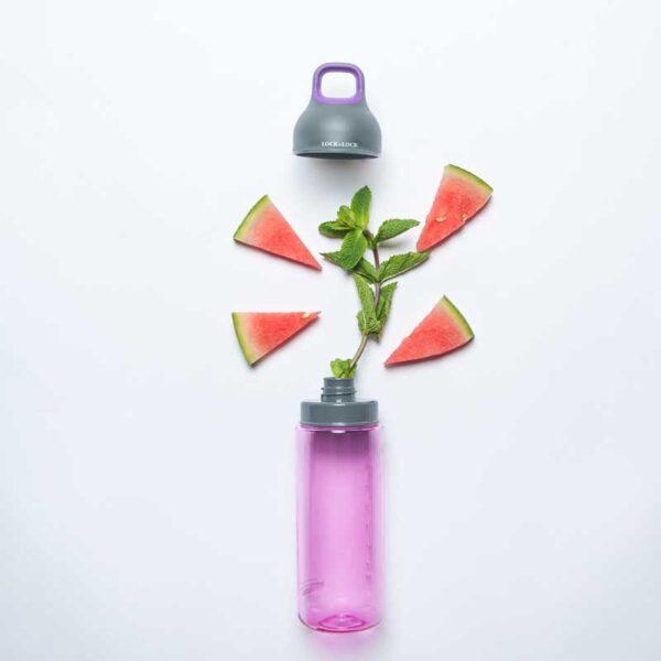 Waterfles Twotone roze van luxe Tritan 470ml
