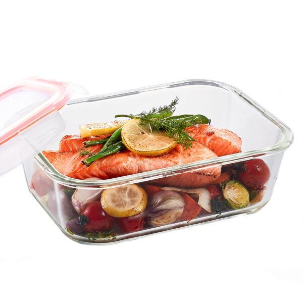 Glazen ovenschaal met deksel 2.0 liter