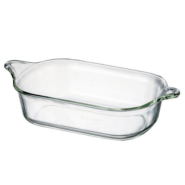 Glazen ovenschaal met handgreep 2.0 L