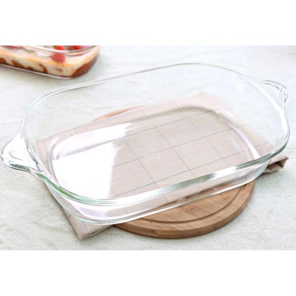 Glazen ovenschaal met handgreep 4.4 L