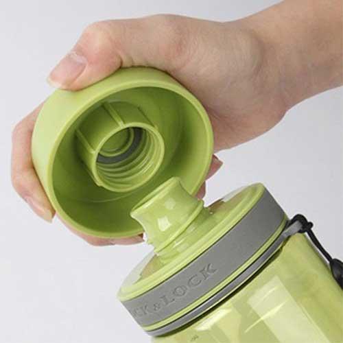 Waterfles Ecolife groen van luxe Tritan 600ml