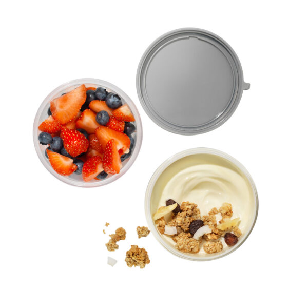 Siliconenring yoghurtbeker