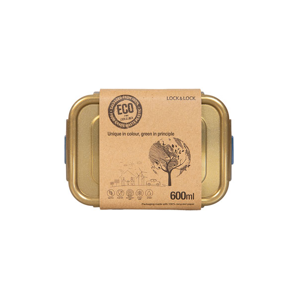 ECO vershoudbakjes 600 ml