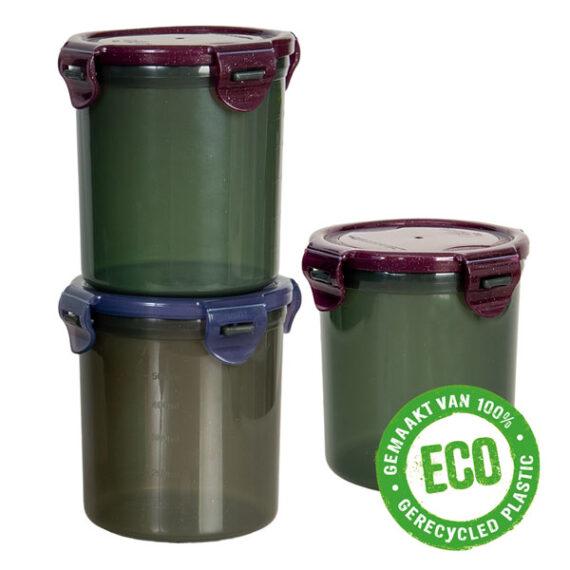 ECO vershoudbakjes 700 ml rond