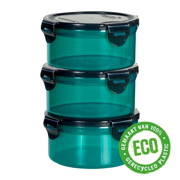ECO vershoudbakjes 600 ml rond