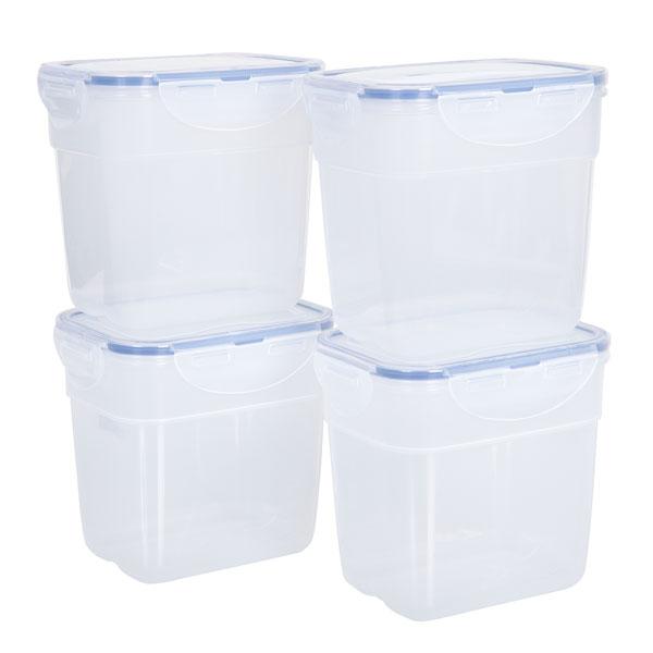voordeelverpakking stapelbare vershoudbakjes 1 liter