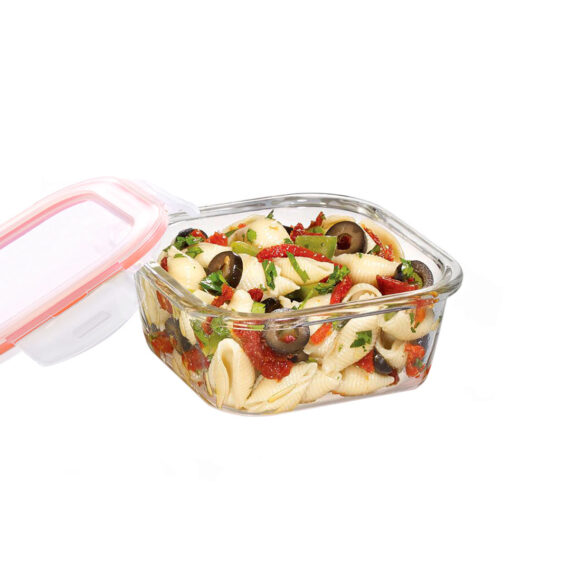 glazen-ovenschaal-deksel-500-ml-vierkant