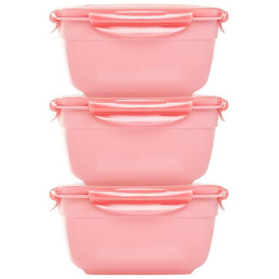 Stapelbare-vershouddozen-set-3delig-1600ml-roze