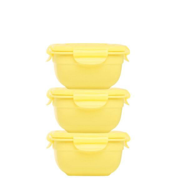Stapelbare-vershouddozen-set-3delig-520ml-geel